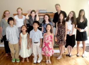 having fun after our spring 2011 studio recital
